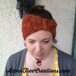Crochet Josey Turban Headwarmer Autumn Homespun