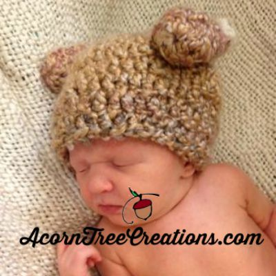 Thanksgiving Turkey Hat Pattern Preemie Through Adult Size