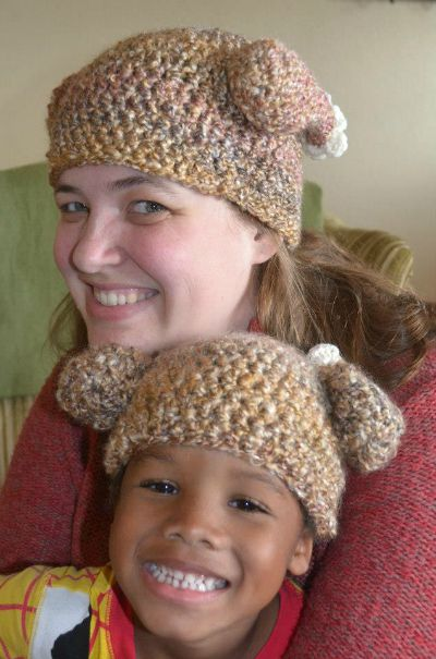 Newborn Crochet Turkey Hat Pattern Adult and Child Versions