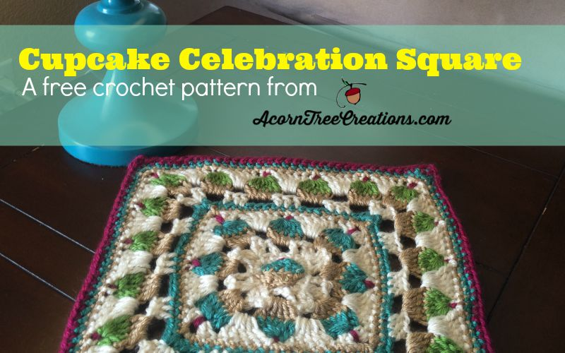 Cupcake Celebration Square for the Moogly CAL 2015