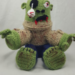 Stitchhikers Survival Buddy crochet pattern
