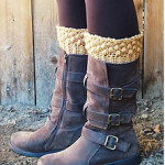 Autumn Acorn Bootcuff and Gloves Pattern from the Stitchhikers